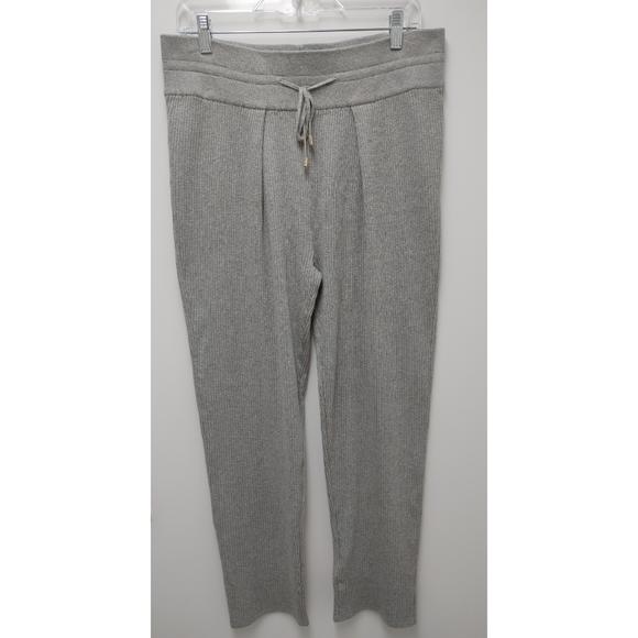 Massimo Dutti Pants - Massimo Dutti Ribbed Knit Trousers Pants Size L